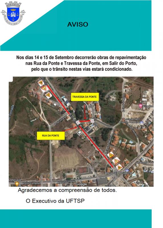 União das Freguesias de Tornada e Salir do Porto