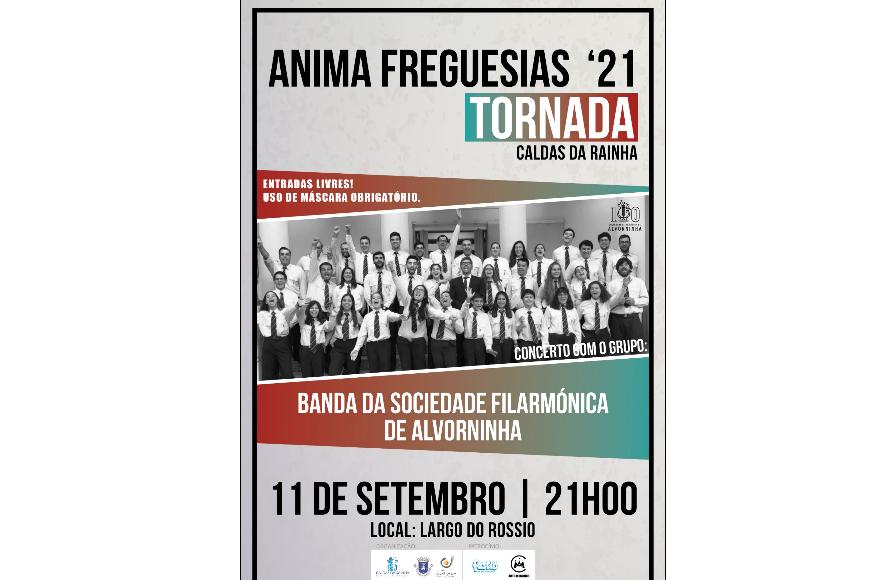 BANDA DA SOC. FIL. DE ALVORNINHA | 11 Set - 21h00 | TORNADA