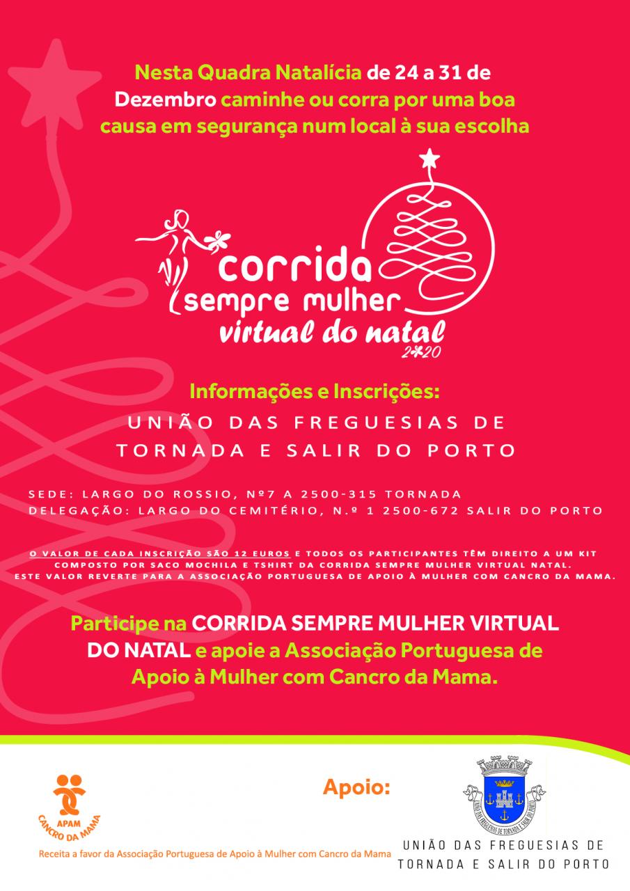Evento - Corrida Sempre Mulher Virtual do Natal